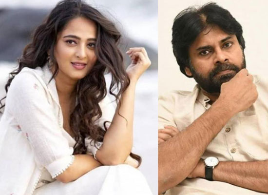 Anushka Shetty and Pawan Kalyan come together for Krish Jagarlamudi's next?