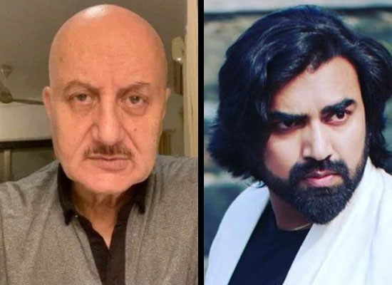 Anupam Kher opens up about his costar Sandeep Nahar!