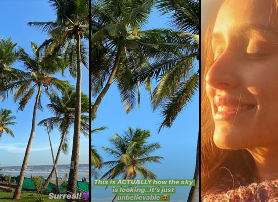 Shraddha Kapoor to share the 'surreal' view of the beautiful sky and weather!