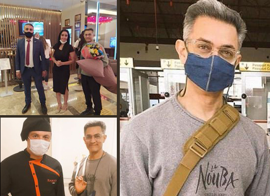 Aamir Khan jets off to Turkey for Laal Singh Chaddha's shoot post lockdown!