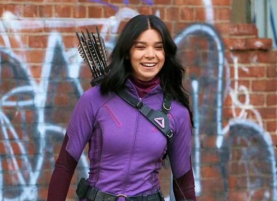 Hailee Steinfeld opens up on her new series Hawkeye!