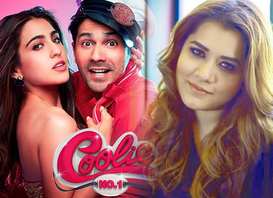 Shikha Talsania opens up on working with Varun and Sara in Coolie No 1!
