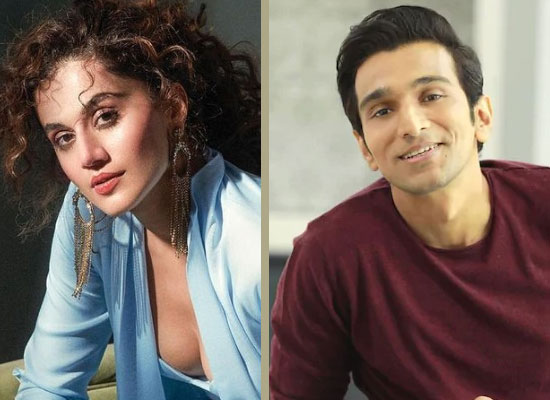 Taapsee Pannu and Pratik Gandhi to unite for Woh Ladki Hai Kahaan?!