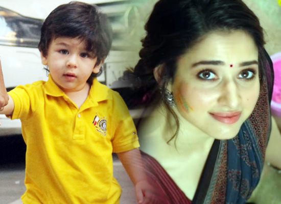 Star kid Taimur Ali Khan finds a new fan in Tamannaah Bhatia!