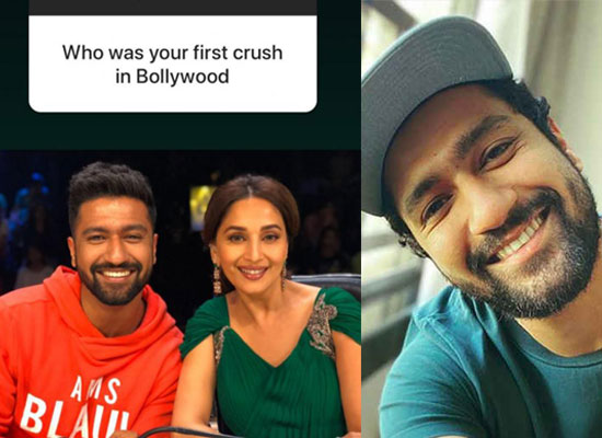 VICKY KAUSHAL'S FIRST CRUSH!
