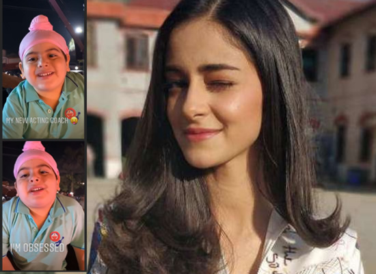 Ananya Panday's obsession for her 'new acting coach'!