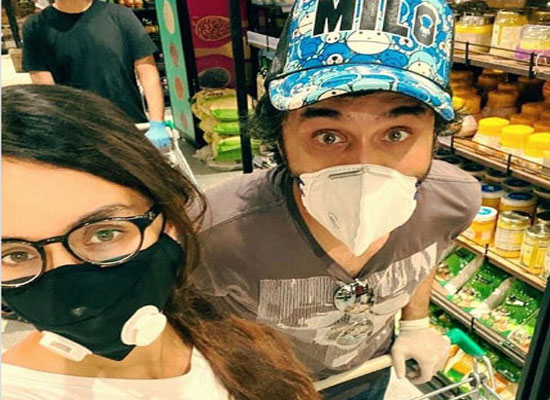 Shraddha's adventurous grocery shopping with brother Siddhanth amid lockdown!