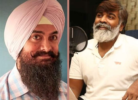 Vijay Sethupathi breaks silence on quitting Aamir Khan's Laal Singh Chaddha!
