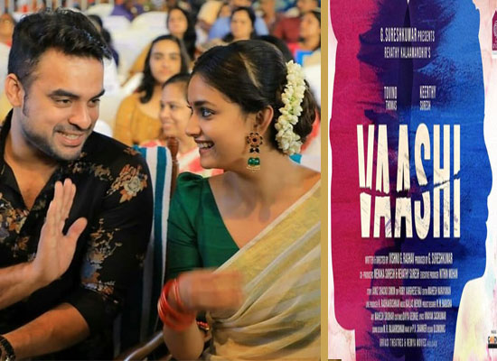 Keerthy Suresh and Tovino Thomas to unite for a film titled Vaashi!