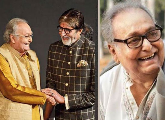 Big B mourns the demise of iconic actor Soumitra Chatterjee!