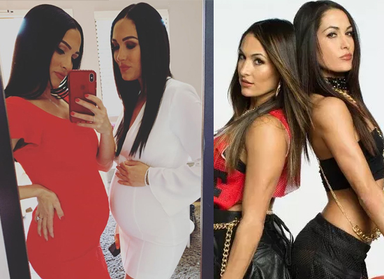 Brie Bella and Nikki Bella unite with UNICEF for expecting mothers during lockdown!