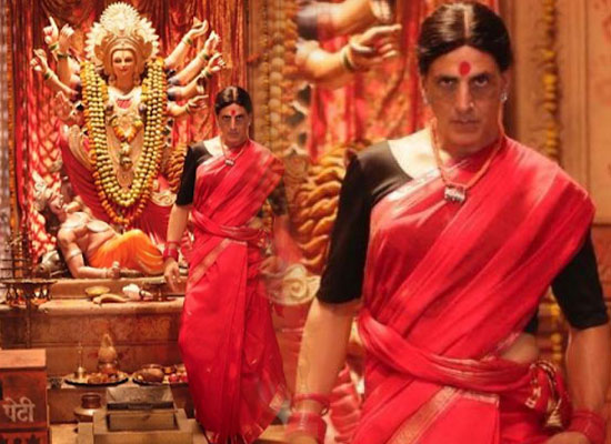 Akshay Kumar opens up on wearing a saree for Laxmmi Bomb!