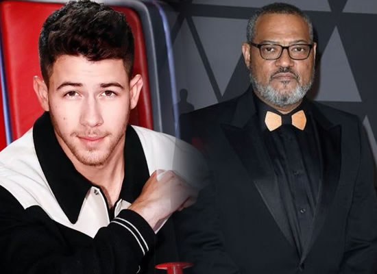 Nick Jonas and Laurence Fishburne unite for 'The Blacksmith'!