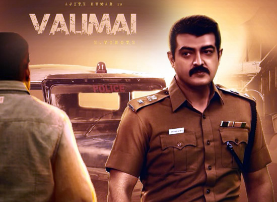 Thala Ajith to essay the role of a cop in Valimai?