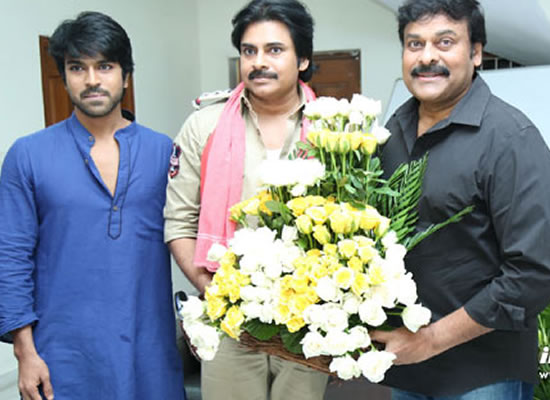 South star Pawan Kalyan's comeback in films with Chiranjeevi and Ram Charan!