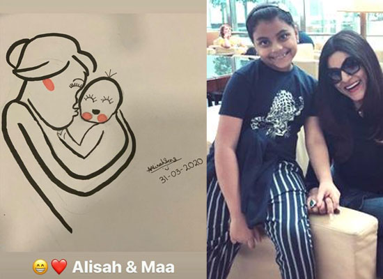 Sushmita Sen to share daughter Alisah's beautiful portrait!