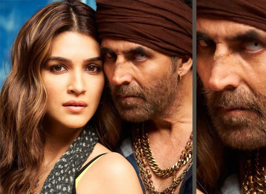 Kriti Sanon to share the first photo with Akshay Kumar from Bachchan Pandey!