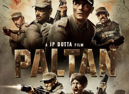 The soundtrack of Paltan is an inspiration soundtrack with patriotism!