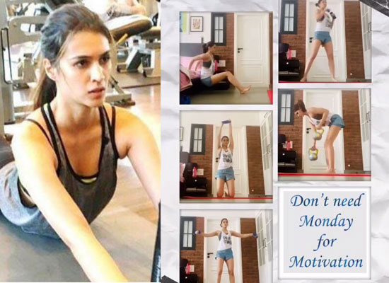 Kriti Sanon's 'Quarantine Workout'!