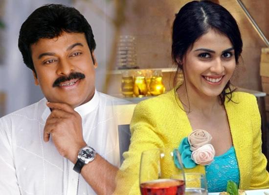 Genelia D'Souza and Chiranjeevi unite for the Telugu remake of Lucifer?
