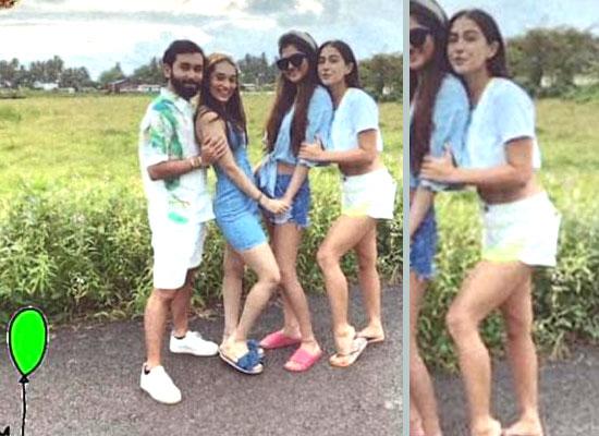 Sara Ali Khan enjoys a fun outing with her besties!
