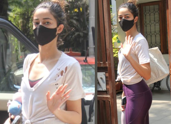 Ananya Panday's casual avatar for her Yoga class!