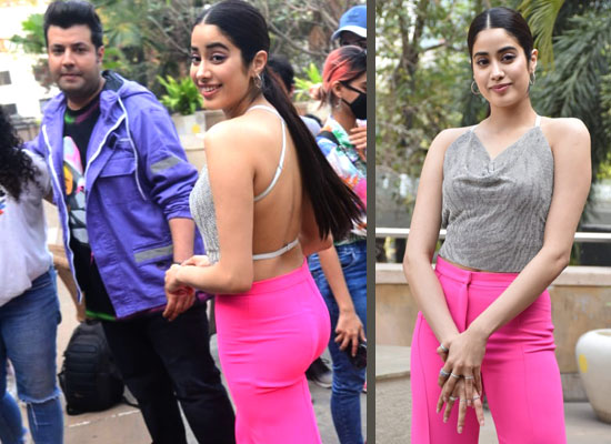 Janhvi Kapoor's glamorous avatar for Roohi promotion!