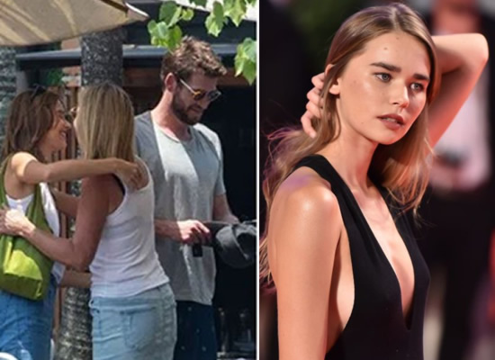 Liam Hemsworth and girlfriend Gabriella Brooks's romantic moments on an Australian beach!