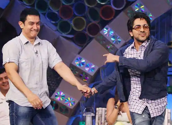 Ayushmann Khurrana finds a new mentor in Aamir Khan!