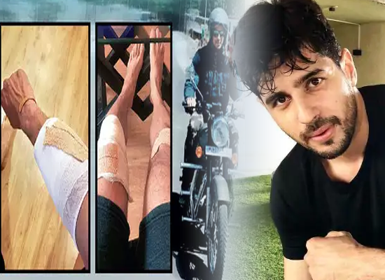 Shershaah star Sidharth Malhotra meets with an accident while riding a bike in Kargil!