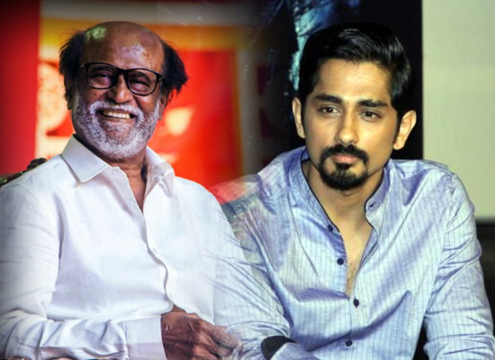 Siddharth to play a pivotal role in Rajinikanth starrer Thalaivar 168!