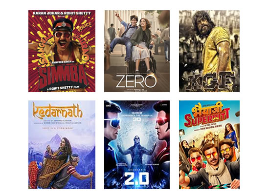 Box Office for the latest week -  31st January, 2016