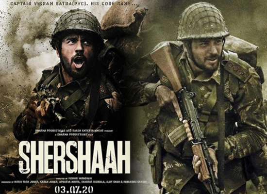 Sidharth Malhotra's first look as Captain Vikram Batra in his next Shershaah!