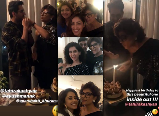 Tahira Kashyap rings in her birthday with hubby and other friends!