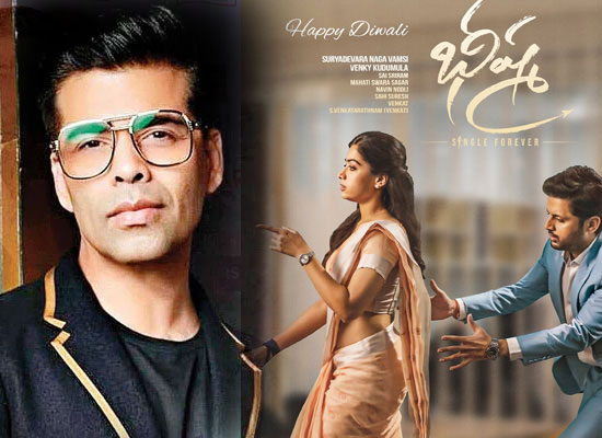 Karan Johar to acquire south hit Bheeshma's rights for Hindi remake?