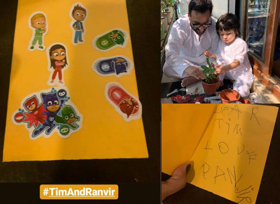 Kareena Kapoor Khan reveals about a handmade card from Taimur's best friend Ranvir!