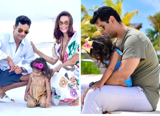 Neha Dhupia and Angad Bedi's lovely note for daughter Mehr on her birthday!