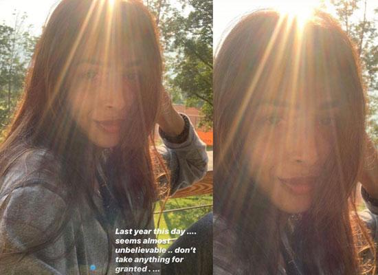 Malaika Arora to share a loveable selfie amid COVID 19 lockdown!