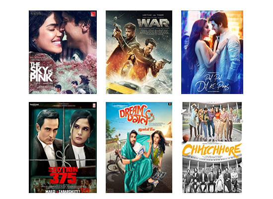 Latest Box Office for this week till 16th October, 2019!