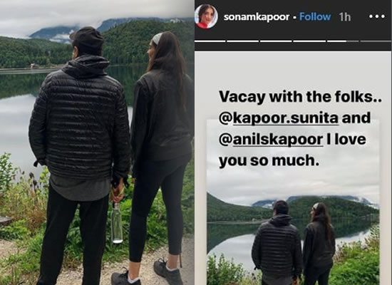 Sonam Kapoor and her parents to enjoy their vacay in Austria!