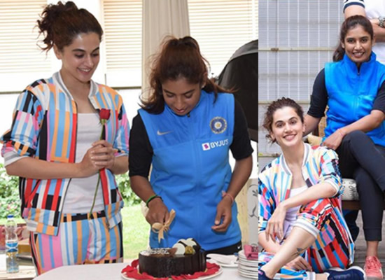 Taapsee Pannu to play cricketer Mithali Raj in her biopic Shabaash Mithu!