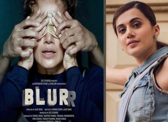 Taapsee Pannu to announce her first project 'Blurr' as a producer!