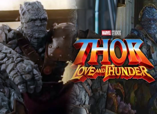 Korg is all set to play a bigger part in the upcoming film Thor: Love and Thunder!