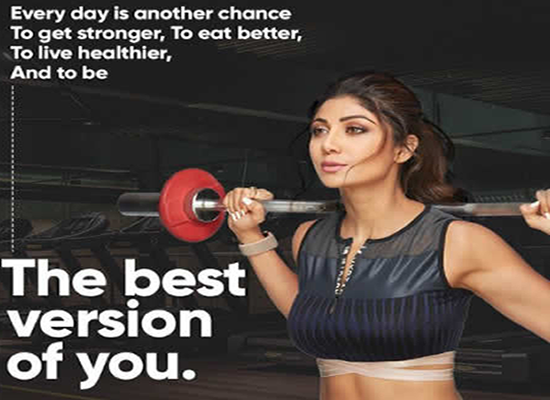 Shilpa Shetty's inspirational post about her fitness mantra!