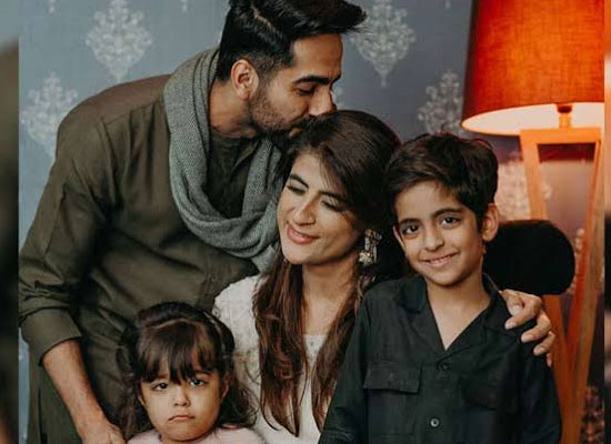 I am missing the young days of my kids, says Ayushmann Khurrana!