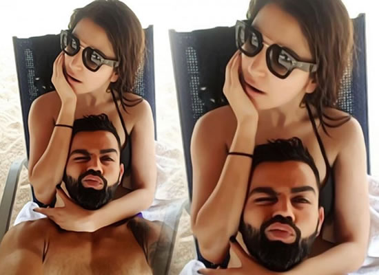 Virat Kohli to share a goofy selfie with wife Anushka Sharma!
