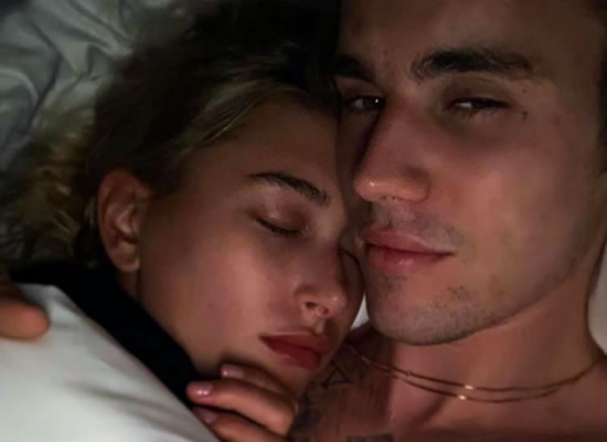 Justin Bieber to share a romantic cuddling photo with wife Hailey Baldwin!