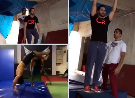 Varun Dhawan reveals about his hard practice for getting the right backflip in Street Dancer 3D!