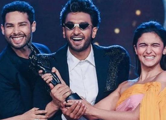 Ranveer Singh starrer Gully Boy wins big at Filmfare!