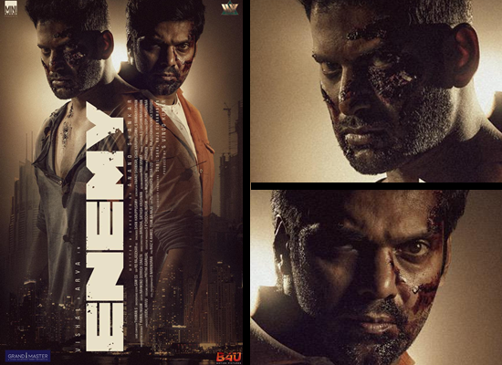 The makers to unveil the Vishal and Arya starrer Enemy's first teaser!